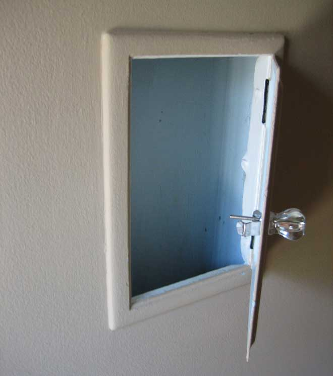 Second Floor Laundry Chute Door