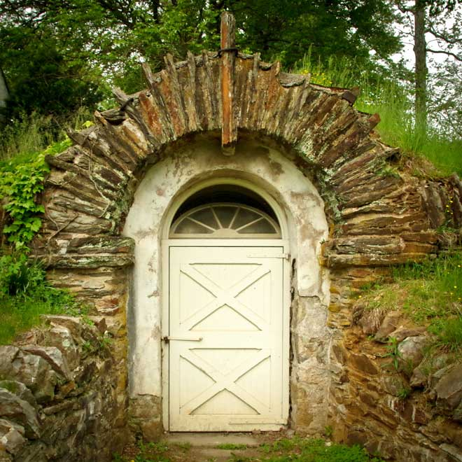 Root Cellar at the Philander Knox Estate