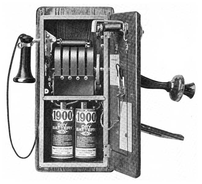 1917 Wall Telephone