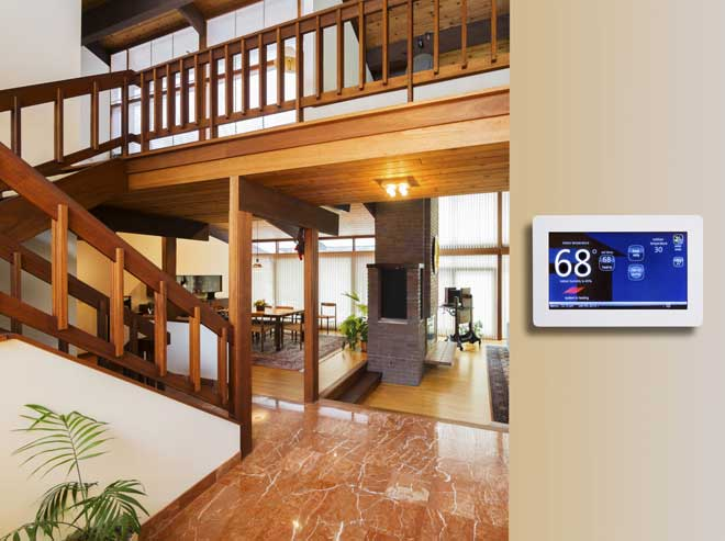 Modern Programmable Thermostat