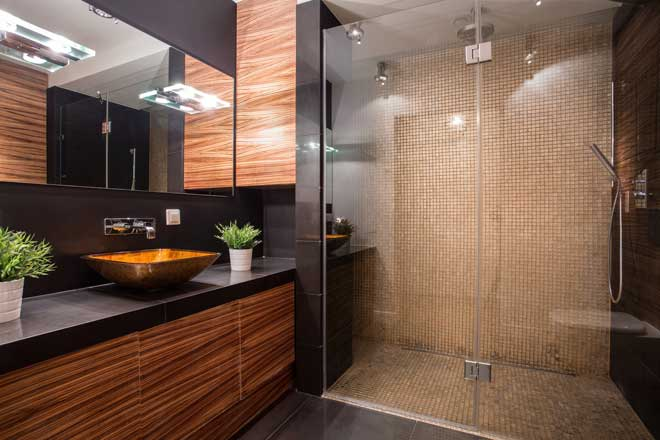 Beautiful Tile Shower Wall