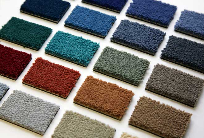 Wool Carpet Color Samples
