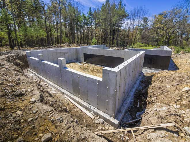 House foundation types 101 home reference for Building a basement foundation