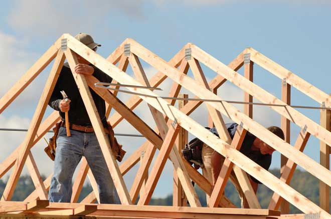 Rafters vs trusses for residential homes - Construccion casas de madera ...