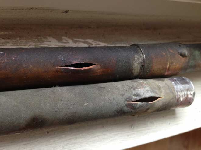How To Thaw Frozen Pipes And Prevent Them From Freezing In