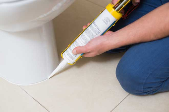 Are You Supposed To Caulk Around A Toilet Or Not Home