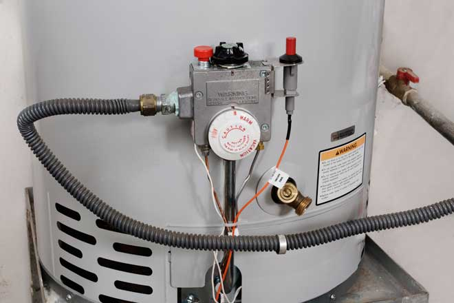 Temperature Controls on Gas Water Heater
