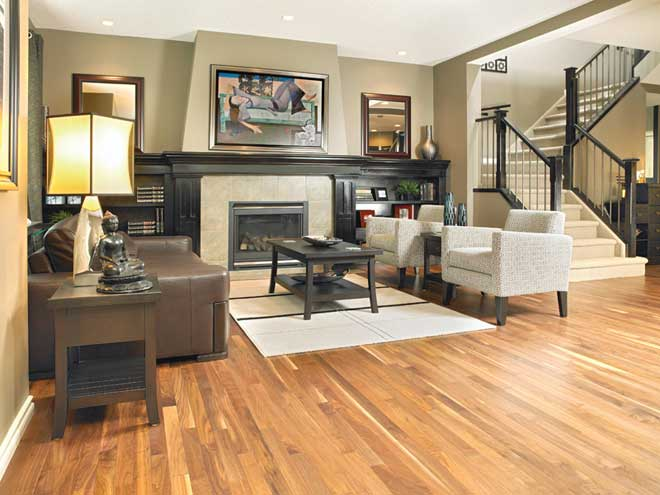 American Walnut Hardwood Floor