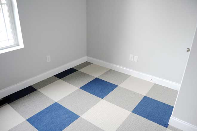 Buffalo Plaid Carpet Tile