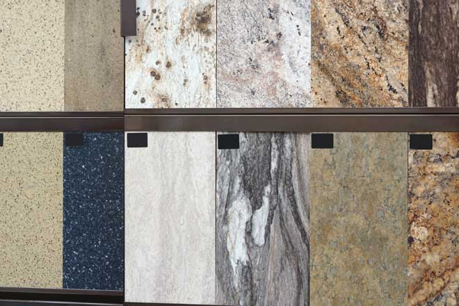 Granite Floor Tile Samples
