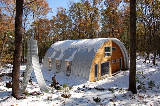 Modern Quonset Home