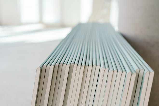 A Stack of Drywall