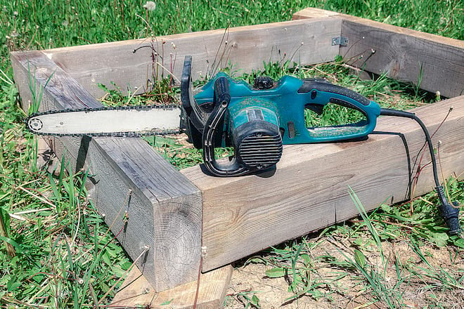 Large Electric Chainsaw